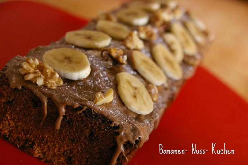 Rezept Bananen Nuss Kuchen Jerrys Welt